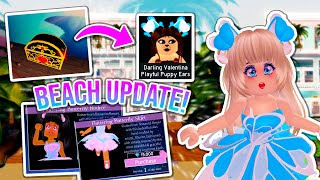 NEW BUTTERFLY SET, HOW TO GET THE PUPPY EARS & BEACH HOUSE UPDATE! Royale High Summer UPDATE