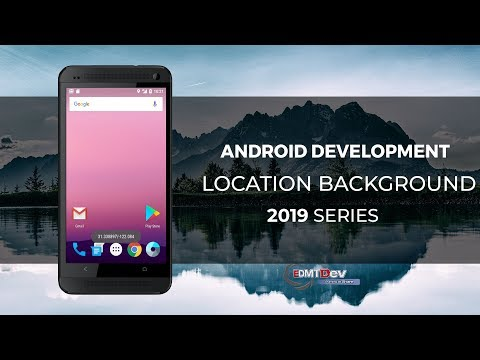 Android Studio Tutorial - Google Location Update from Background android development tutorial