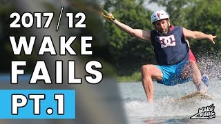 Best Wakeboard Fails Of December 2017 By WakeFails.com