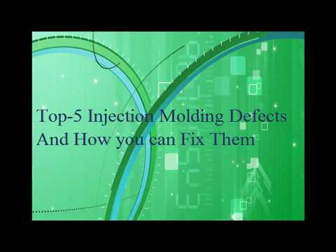 Injection Molding Defects and Solutions - смотреть онлайн на Hah Life