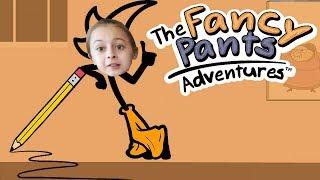 ЗЛОЙ КАРАНДАШ и Приключения НАРИСОВАННОГО ЧЕЛОВЕЧКА Видео для Детей The Fancy Pants от AnekVanek Gam
