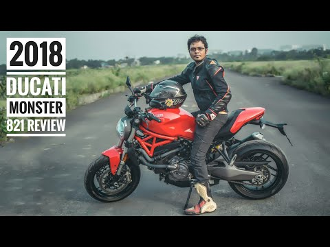 2018 Ducati Monster 821 Review | Comparsion Z900 & street Triple | RWR