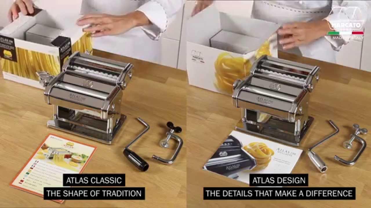 Video - Marcato Pastamachine Ampia 180