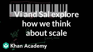 Vi and Sal Explore How We Think About Scale
