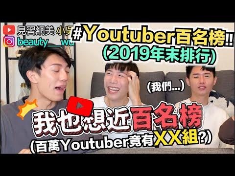 小吳-了解台灣youtuber有誰,原來破百萬已經有35個了