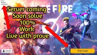 Free Fire Advanced Server Problem Solve Th Clip