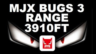 MJX Bugs 3 RANGE TEST Jumper T8SG V2 FXT MARS FPV CAMERA Test Review