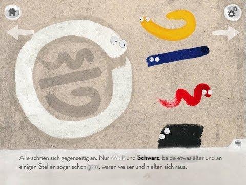 Weiß weiß Bescheid - App zum Kinderbuch | Geschichte über Farben