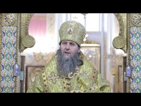 Митрополит Даниил совершил последнюю в уходящем году Божественную литургию