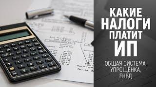 [Налоги ИП] Какие налоги платит Индивидуальный Предприниматель