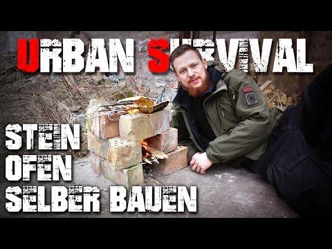 Backsteinofen selber bauen - Urban Survival Überleben - Deutschland (deutsch/german)