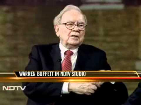 WARREN BUFFETT INTERVIEW FROM INDIA (MUST WATCH)