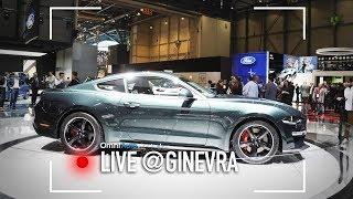 Ford Mustang Bullitt, da Ginevra per l'Europa