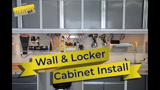 Installing Garage Wall Cabinets | Garage Organization Episode 4