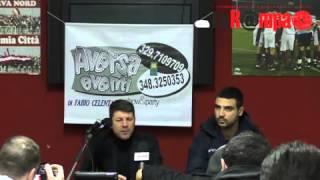 preview picture of video 'Aversa Normanna Casertana intera conferenza stampa post gara'