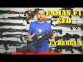 Fusil Famas F1 EVO (G1) Fibre de Nylon & Metal AEG