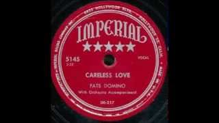Fats Domino - Careless Love (master, with complete piano intro) - September 1950