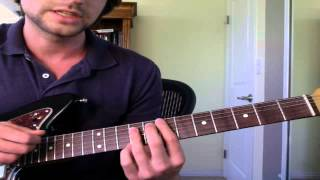 "How To Play ""Naive"" By The Kooks (Guitar Lesson)"