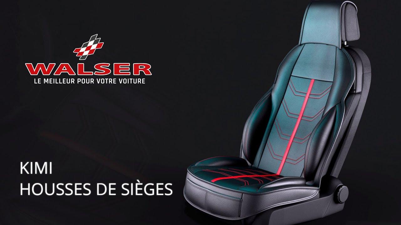 Aperçu: Housses de sièges Kimi noir gris
