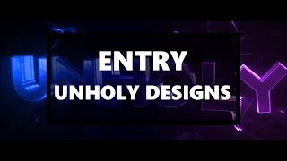 Entry for Unholy Designs / by Getschi / [BLENDER/AE]