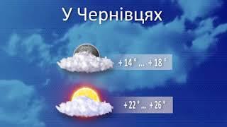 Погода на 22 липня