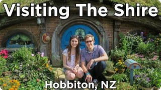 Visiting the Shire in Hobbiton New Zealand | Evan Edinger Travel