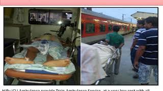 HIfly ICU Train Ambulance Service from Ranchi to Delhi