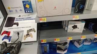 PS4 Stuff at Walmart - Dec. 2018