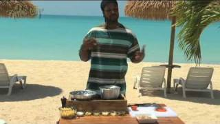 preview picture of video 'The Rhyming Chef Barbuda - Shrimps Not Pimps'