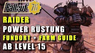 Komplette RAIDER Power Rüstung für Level 15   Fundort & Farming Guide   Fallout 76   PS4