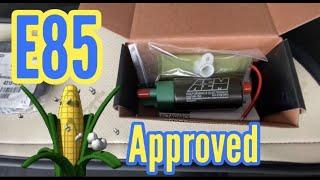 G37 E85 fuel pump upgrade
