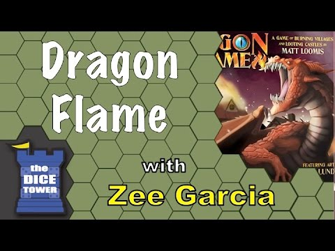 The Dice Tower reviews DragonFlame