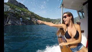 BOATING the Amalfi Coast Italy
