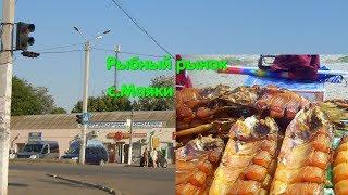 Рынок с. Маяки. р. Днестр. Копченая рыба. Рыба с глистами. Паразиты. Глисты. Базар. Щука. Цена рыбы