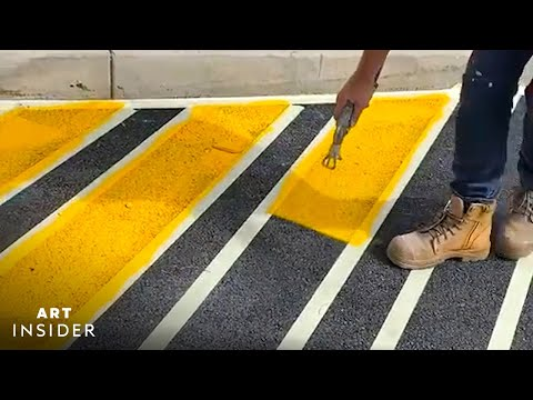 Perfectly Painted Road Signs