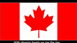 Oh Canada-Canadian national anthem-English lyrics