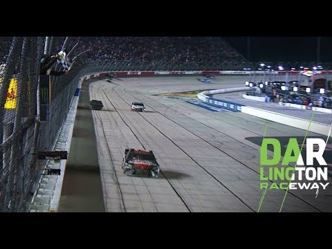 Erik Jones earns win, Kyle Busch hits wall in closing laps: Darlington Raceway