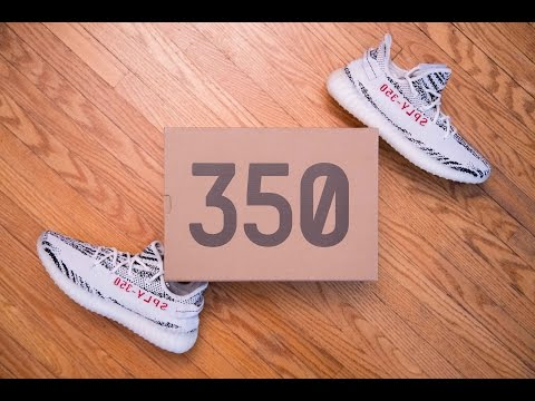 b14708add50d Adidas Yeezy Boost 350 V2 Zebra Review and On Feet - Youtube Download
