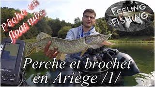 Peche Du Brochet Et De La Perche Aux Leurres En Floatube - Gopro HD
