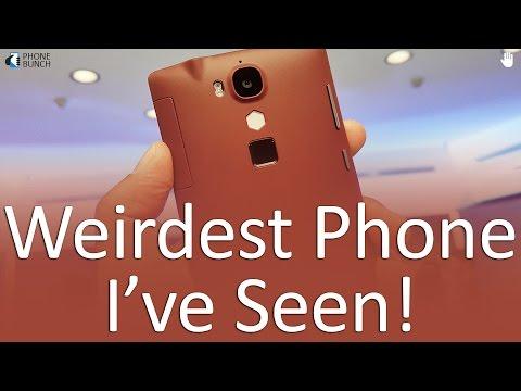 Hyve Buzz Hands on - Weirdest Phone I've Seen