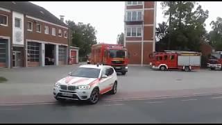 Feuerwehren aus dem Kreis Leer zur Unterstützung in Meppen