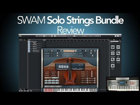 Audio Modeling SWAM String Bundle Demo & Review