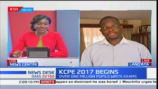Education expert, Jonathan Wesaya on the state of education in the country even as KCPE exams begin