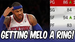 GETTING MELO A RING! Rebuilding the New York Knicks! NBA 2K17 My League