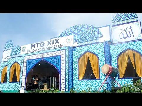 Pawai Ta'aruf Pembukaan MTQ XIX Tingkat Kota Tangerang