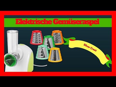 SilverCrest Elektrisch Gemüse Raspel Ich bin Begeistert vom Küchen Helfer