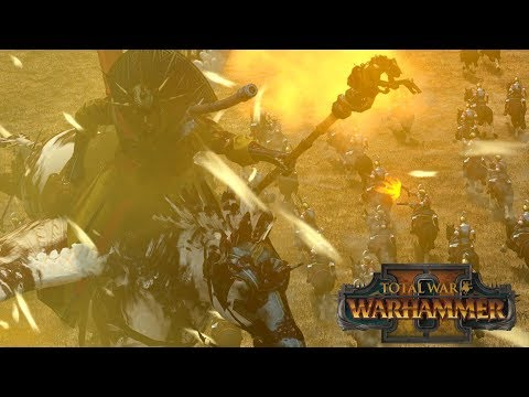 HEAVY METAL GELT - Empire vs Chaos // Total War: Warhammer II Online Battle (видео)