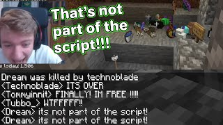 Every SCRIPT MISTAKE on dream smp (dream,technoblade,tommyinnit..)