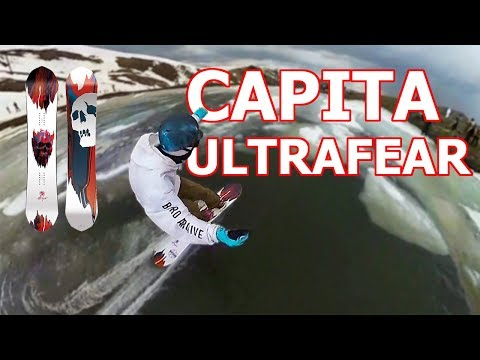 Capita Ultrafear Snowboard Review 2019