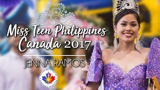 Miss Teen Philippines Canada 2017 - Jenna Ramos
